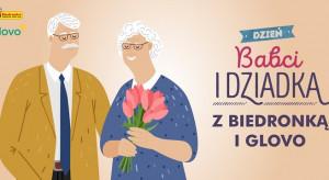 Biedronka i Glovo dostarczą za darmo prezenty dla babć i dziadków