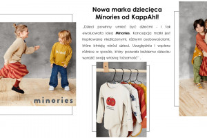 KappAhl wprowadza na rynek nową markę odzieży dziecięcej
