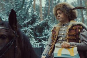Borys Szyc, Michał Żebrowski i… koń w nowej reklamie McDonald's