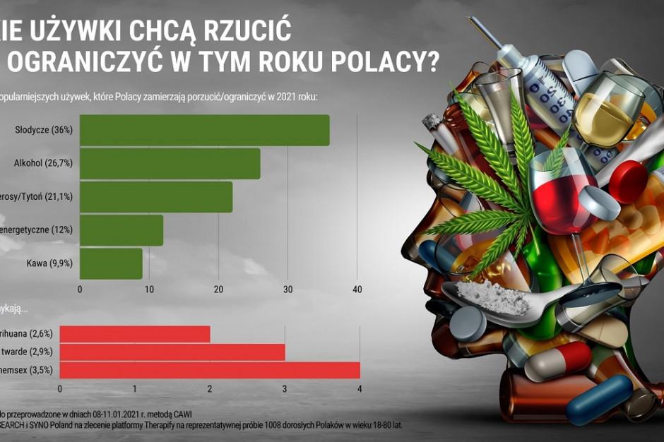 Badanie: Polacy chcą ograniczyć spożycie słodyczy i alkoholu