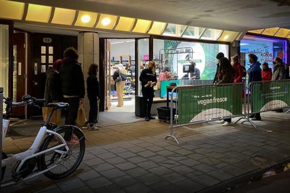 W Amsterdamie ruszył pierwszy wegański supermarket