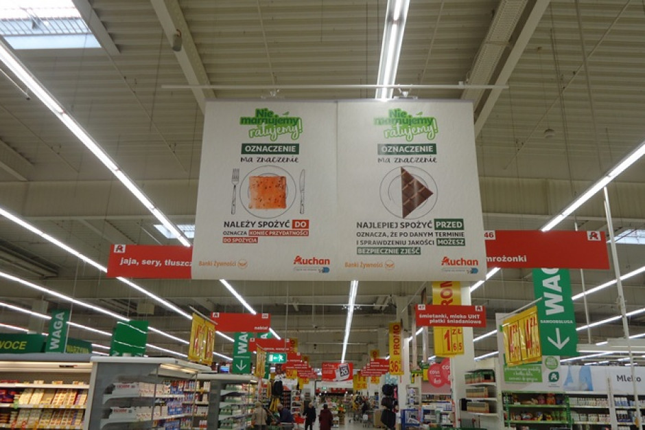 Auchan: W 2020 roku obniżyliśmy straty żywności o 474 tony