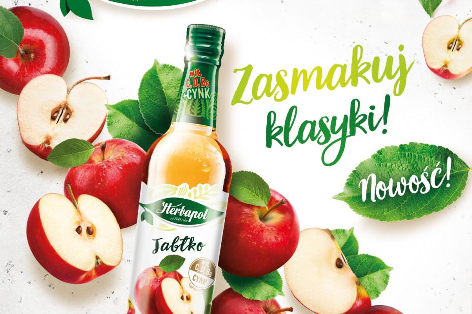 Herbapol-Lublin wprowadza syrop o smaku jabłkowym