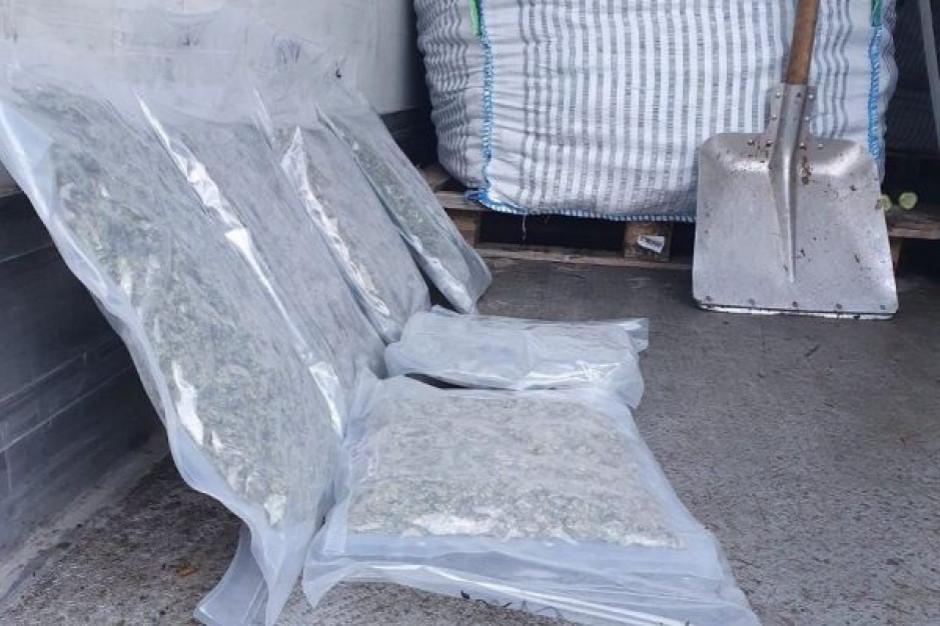 Narkotyki za ponad 10 mln zł w transporcie ogórków