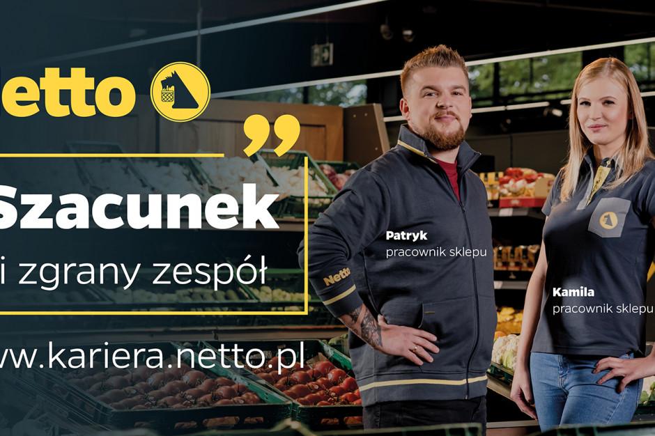 Netto rusza z kampanią do pracowników