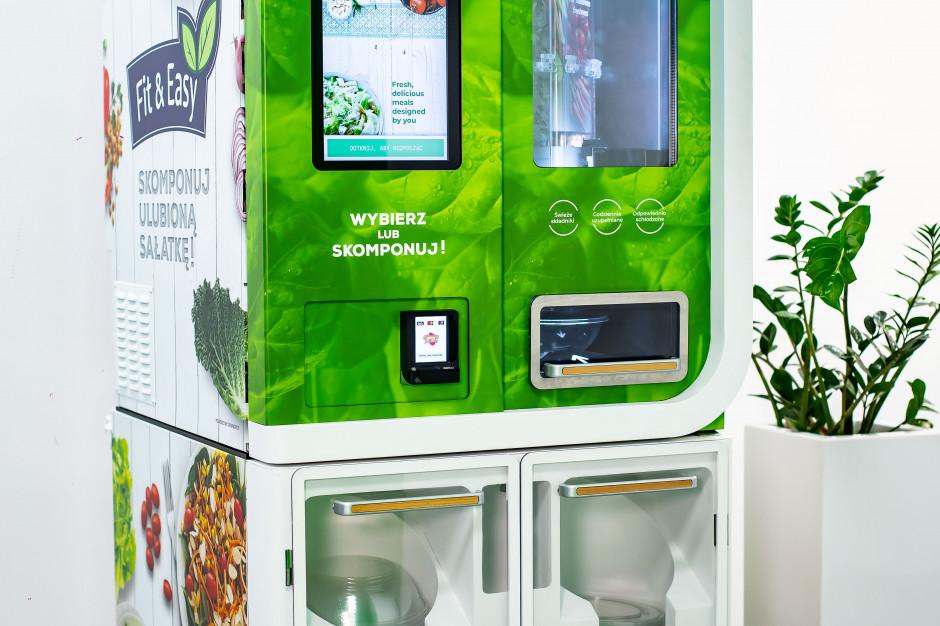 Green Factory z testami automatów vendingowych sałatek Fit & Easy