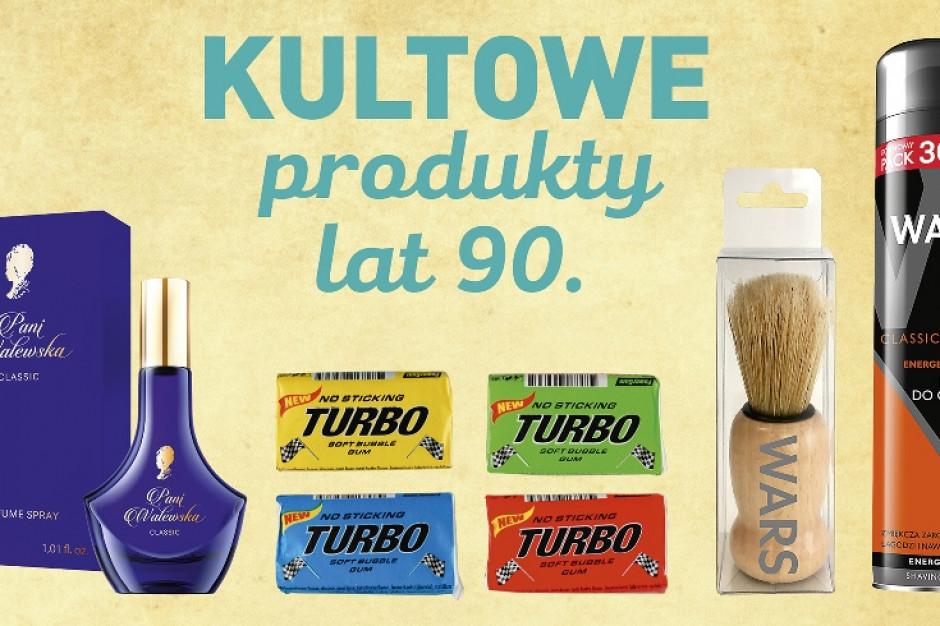 Guma Turbo, blok warszawski i perfumy Pani Walewska w sklepach Aldi