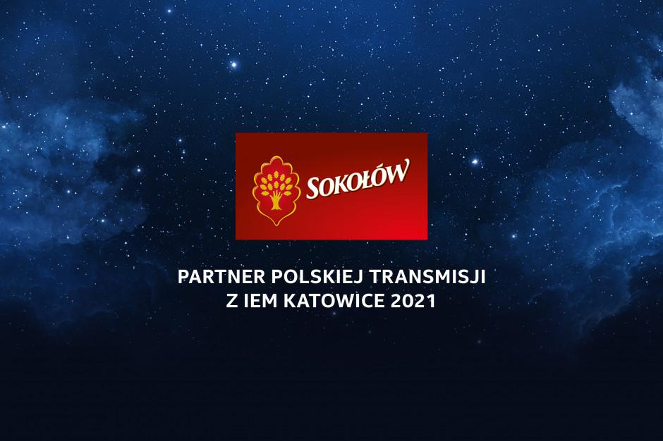 Sokołów promuje swoje produkty podczas transmisji IEM Katowice