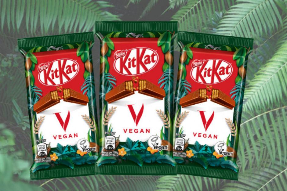 Nestle wprowadza wegańskiego Kit-Kata
