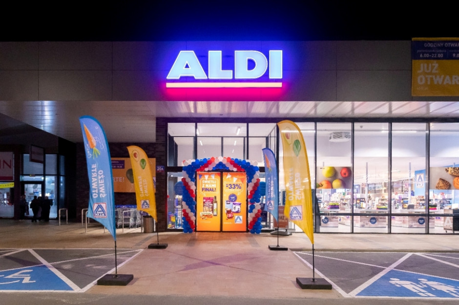 Aldi w tym roku otworzy 45 sklepów i zatrudni 600 pracowników
