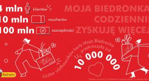 Karta Moja Biedronka ma ponad 10 mln użytkowników