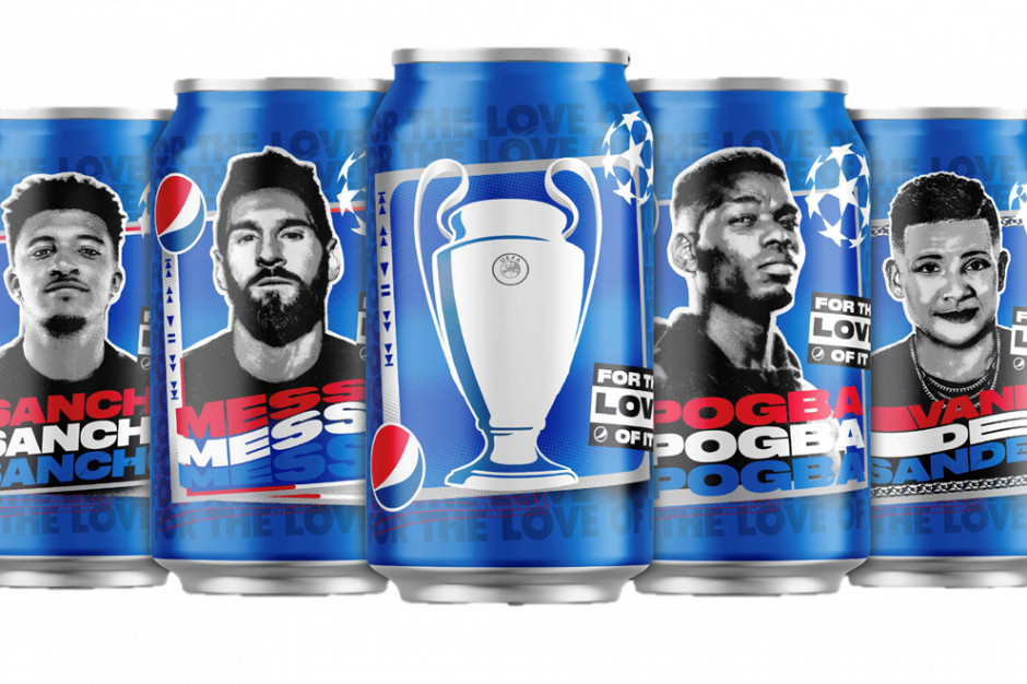 Nowa kampania Pepsi z udziałem gwiazd światowego futbolu