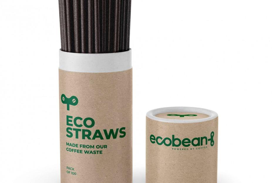 EcoBean pracuje nad stworzeniem słomek z fusów kawowych