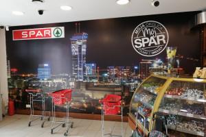 SPAR w miejscu sklepu Big Market Chorten w Warszawie