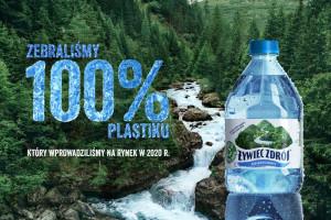 Żywiec Zdrój w kampanii informuje o swojej akcji zbiórki i recyklingu plastiku