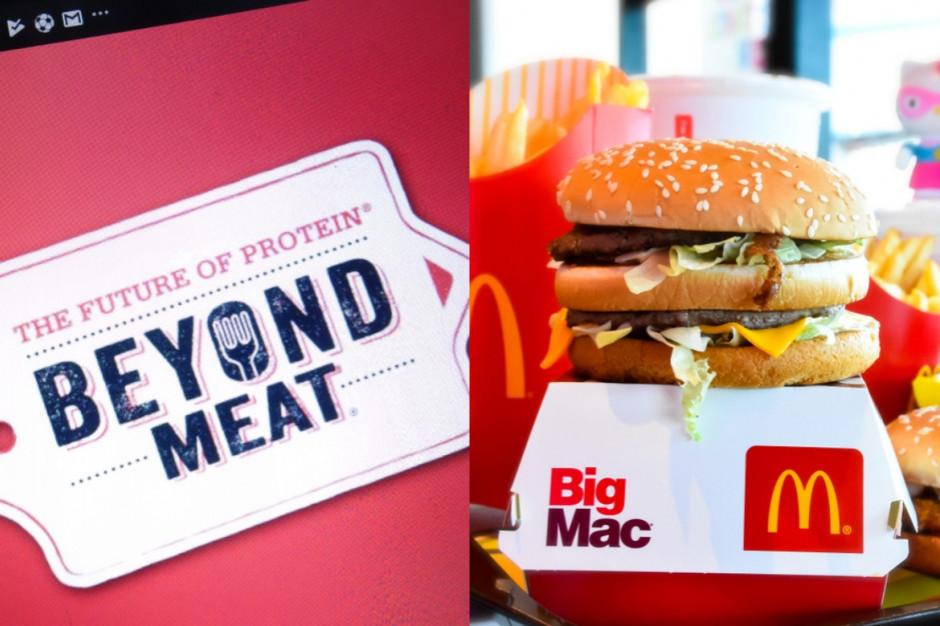 Beyond Meat partnerem McDonald's