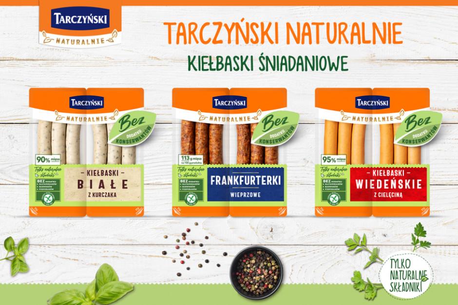 Tarczyński rozbudowuje linię Naturalnie o trzy kolejne produkty