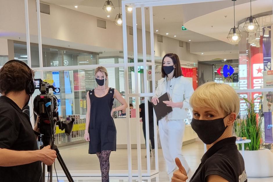 Carrefour zorganizował w swojej galerii interaktywny pokaz nowych kolekcji