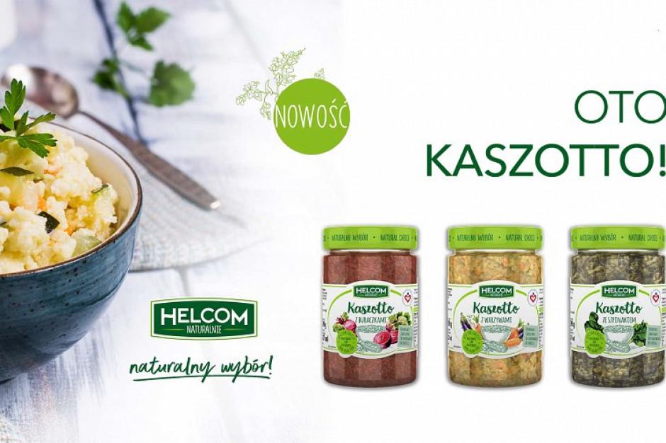 Nowość od Helcom Naturalnie - wegańskie kaszotta oraz pasty z kaszą