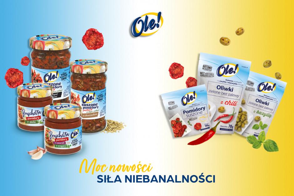 Siedem produktów marki OLE! debiutuje na rynku