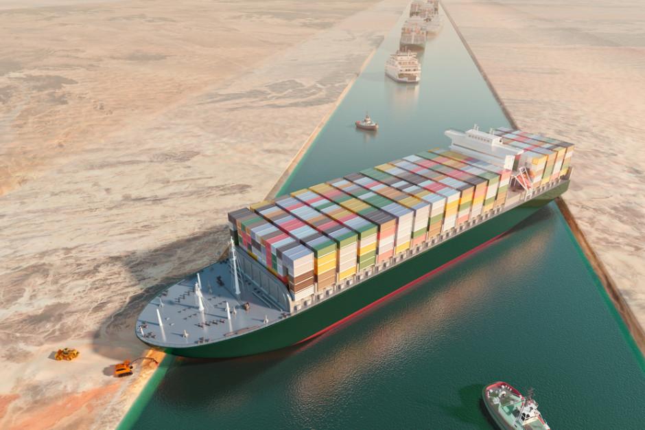 Kanał Sueski odblokowany. Zator handlowy już nam nie zagraża