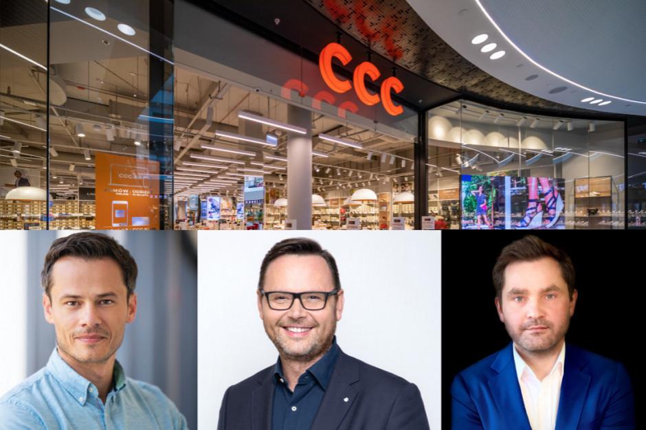 Trzech nowych wiceprezesów w zarządzie Grupy CCC, m.in z doświadczeniem w Tesco i Pepco