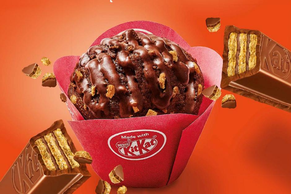 Muffinki made with KITKAT od Nestle i Stokson dostępne w Żabce