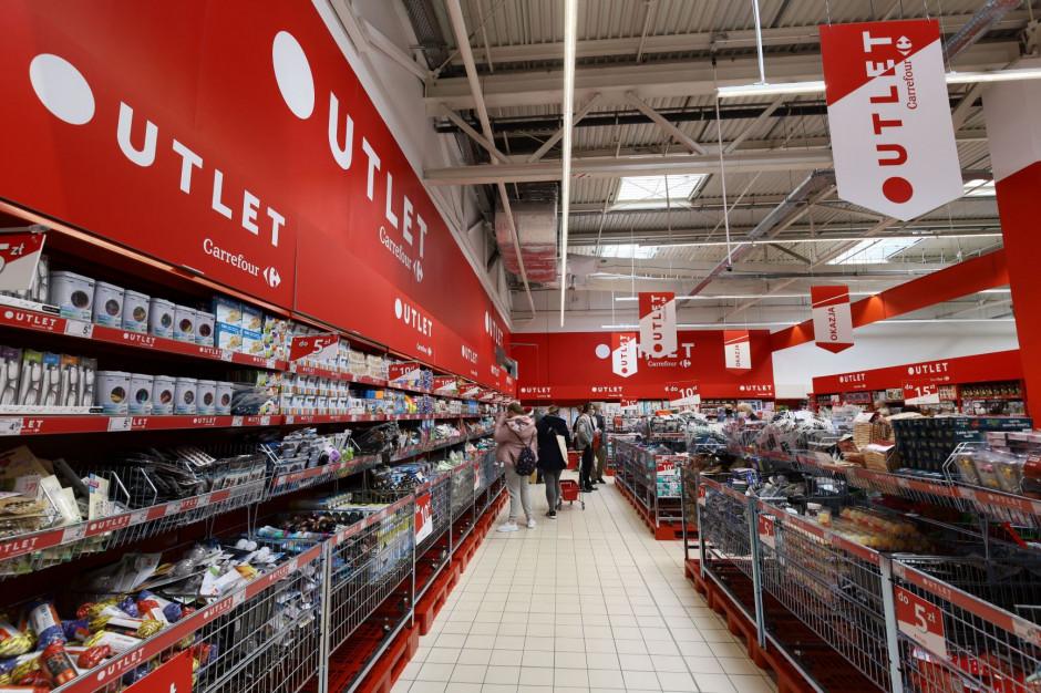 Strefy Outlet pojawiły się w trzech nowych sklepach Carrefoura