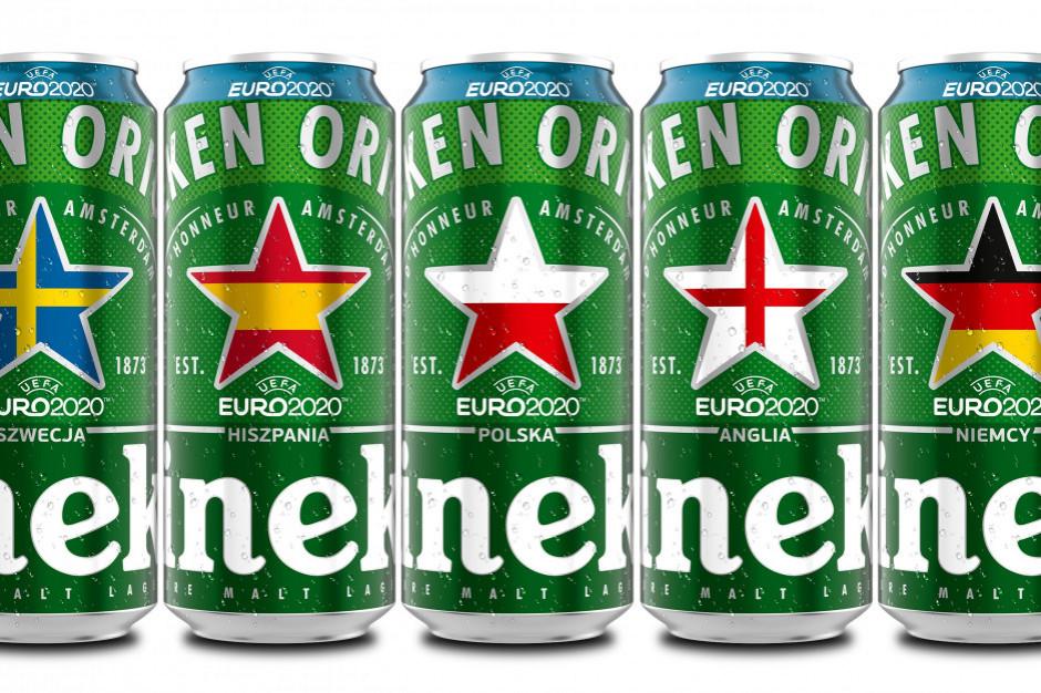 Heineken z limitowaną edycją piw na Euro
