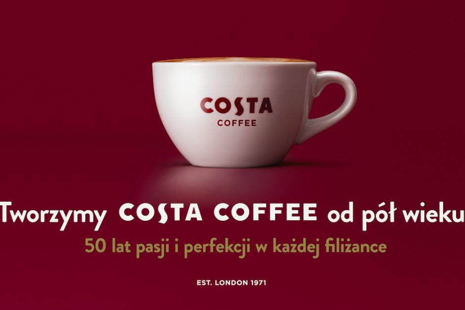 Costa Coffee obchodzi 50-lecie swojej działalności. Rusza kampania promocyjna