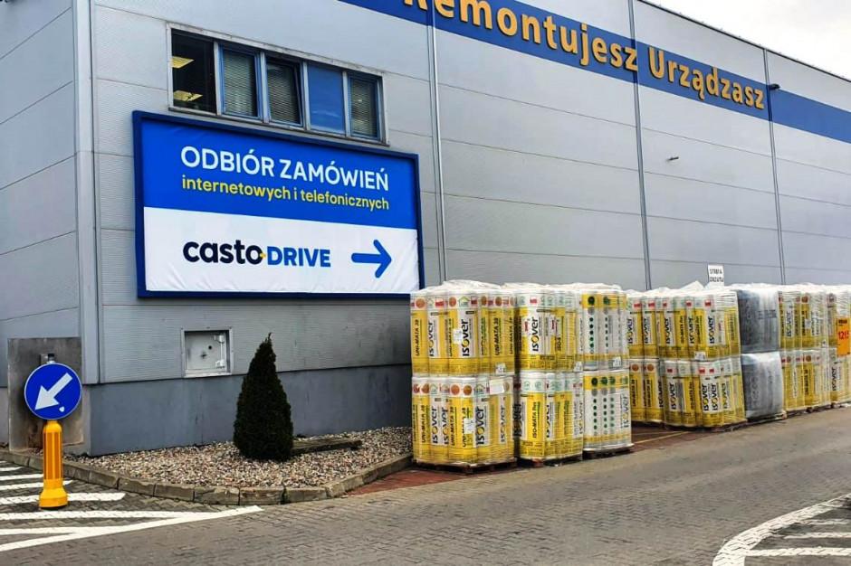 CastoDrive – bezkontaktowy odbiór zamówień przy sklepach Castorama
