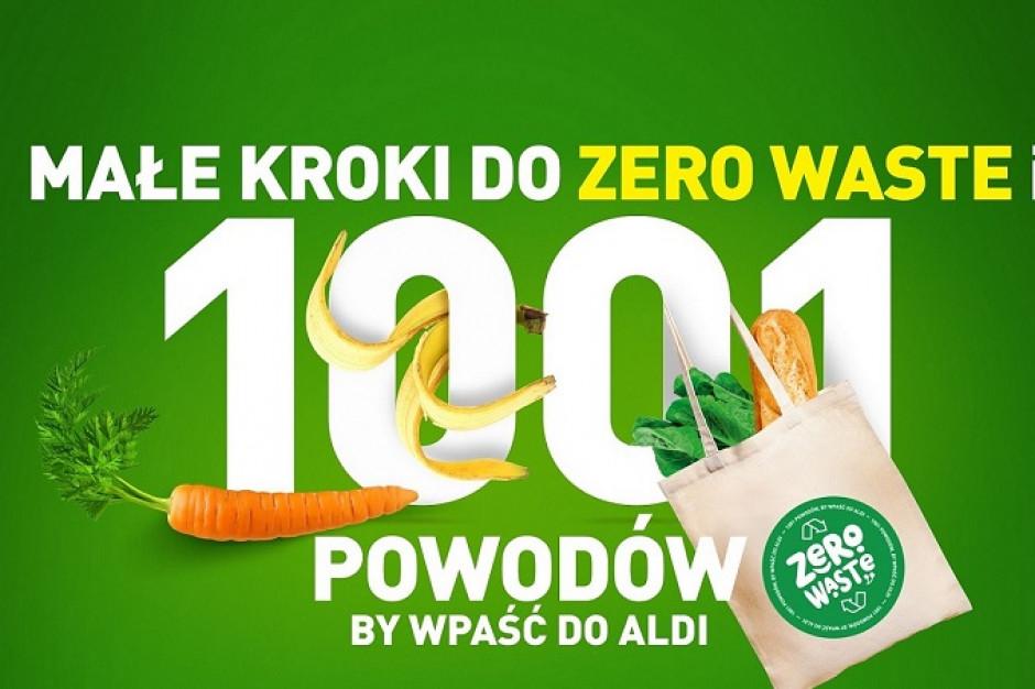 ALDI w nowej kampanii zachęca klientów do proekologicznych zachowań