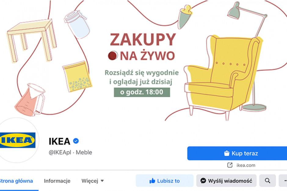 IKEA rusza z transmisjami Zakupy Na Żywo na Facebooku