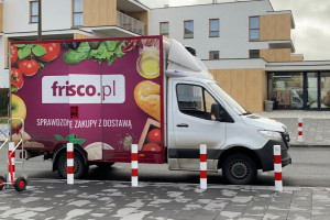 Frisco chce dowozić zakupy mieszkańcom Poznania