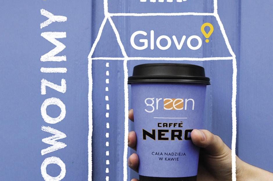 Green Caffè Nero rusza z dostawami z Glovo