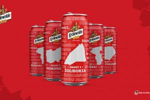 Mural i historie warszawiaków w kampanii piwa Królewskie