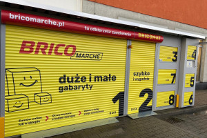 Bricomarché rozwija sieć automatów do odbioru zamówień