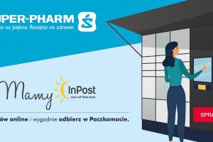 Super-Pharm będzie korzystać Paczkomatów InPost