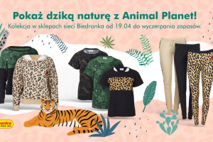 Wspólna kolekcja Biedronki i Animal Planet wchodzi do sklepów