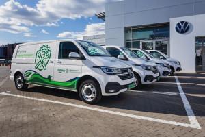 Żabka powiększa flotę o elektryczne Volkswageny