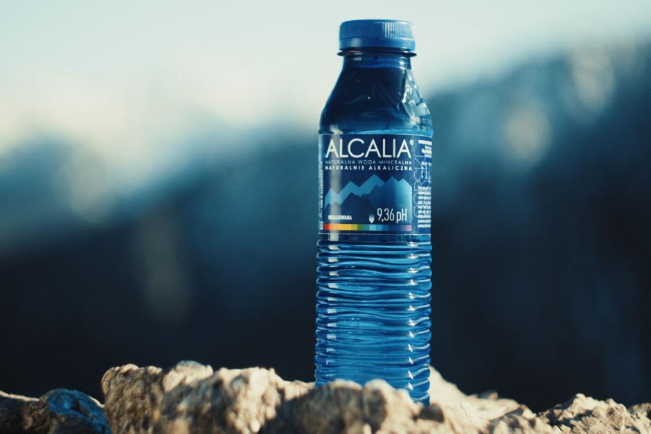 Woda Alcalia w portflio Maspeksu