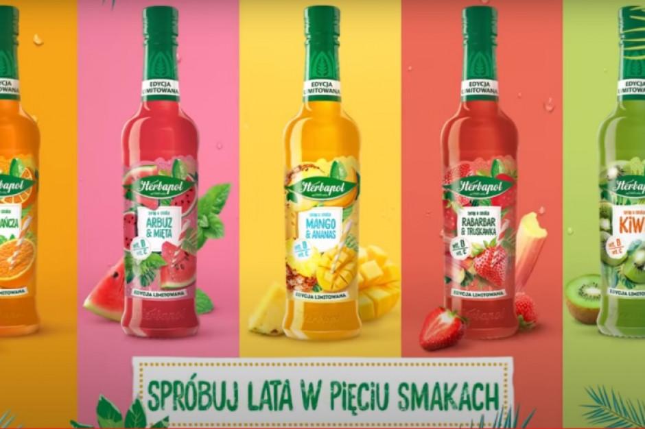 Herbapol-Lublin powraca z limitowaną edycją syropów owocowych
