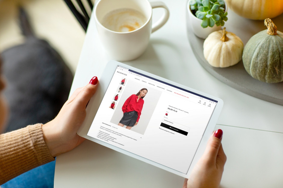 E-commerce to ponad 28 proc. sprzedaży LPP