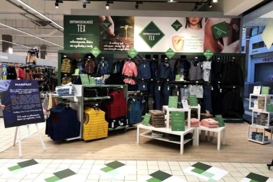 Carrefour tworzy w hipermarketach strefy z eko odzieżą