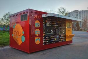 Drugi automatyczny Zinu Shop już działa. Czeka jeszcze na koncesję