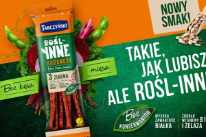 Roślinne Kabanosy 3 ziarna Tarczyński
