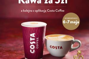 Akcja Kawa za 5 zł w Costa Coffee