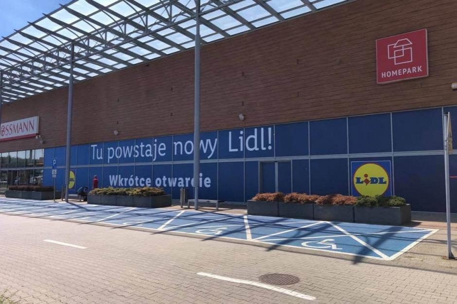 Po niemal roku przygotowań rusza Lidl w Homepark Targówek