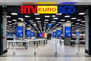 Salon RTV EURO AGD w Galerii Mokotów ze strefą gamingową (galeria)