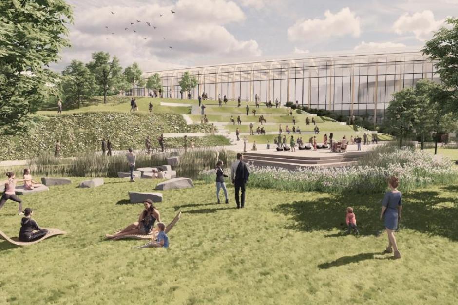 Wilanów Park – wiadomo, jak będzie wyglądać przestrzeń przy handlowej inwestycji